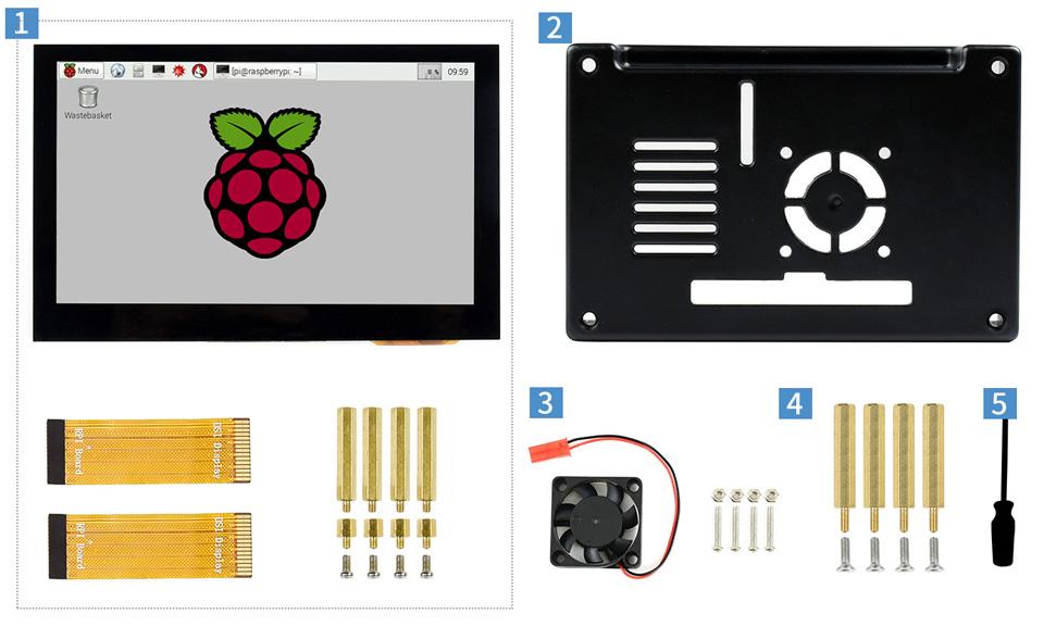 4.3inch DSI LCD