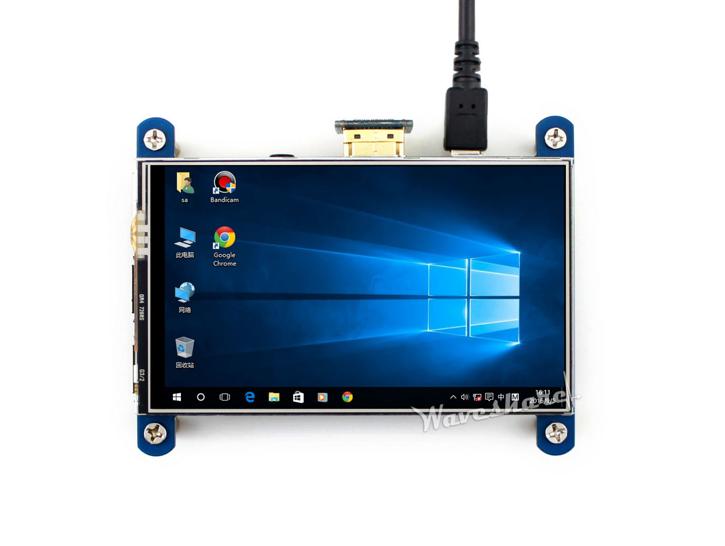 4inch Resistive Touch Screen LCD, HDMI interface, IPS Screen