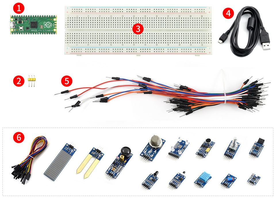 Raspberry-Pi-Pico-Sensor-Kit