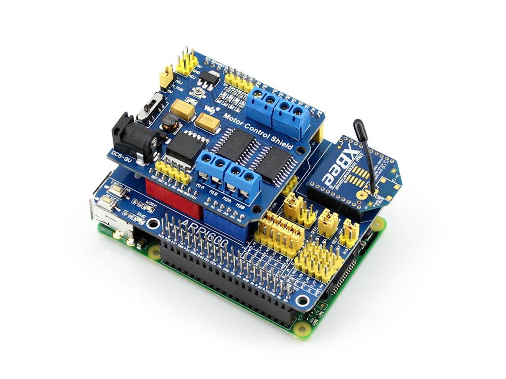 Arpi raspberry pi expansion board