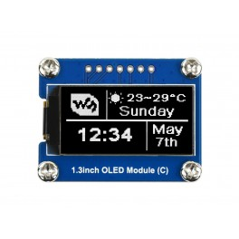 64×128, General 1.3inch OLED Display Module
