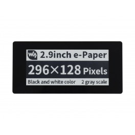 2.9inch Touch E-Paper E-Ink Display HAT for Raspberry Pi, 5-Points Capacitive Touch, 296×128, Black / White, SPI