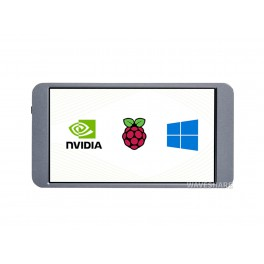 7inch Universal Portable Touch Monitor, 1080×1920 Full HD, IPS, HDMI, Fully Laminated / AF Coating Screen