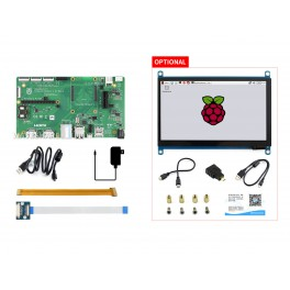 Raspberry Pi Compute Module 4 Dev Kit, with Official IO Board and Optional 7