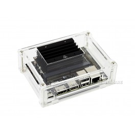 Acrylic Clear Case, Specialized for Jetson Nano 2GB Developer Kit