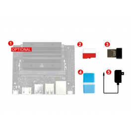 Jetson Nano 2GB Development Pack (Type A), Essential Parts to Get Started