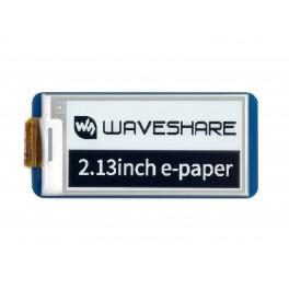 2.13inch E-Paper E-Ink Display Module for Raspberry Pi Pico, 250×122, Black / White, SPI