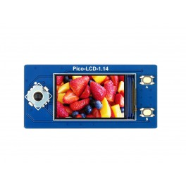 1.14inch LCD Display Module for Raspberry Pi Pico, 65K Colors, 240×135, SPI