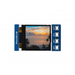 1.44inch LCD Display Module for Raspberry Pi Pico, 65K Colors, 128×128, SPI