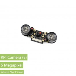 RPi Camera (E), Supports Night Vision