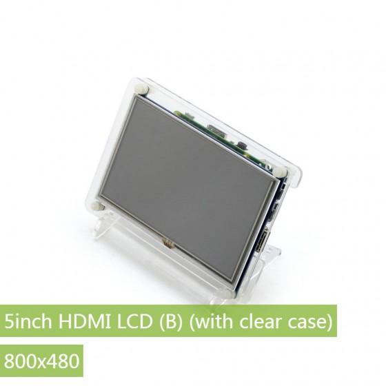 5inch HDMI LCD (B) + Clear case