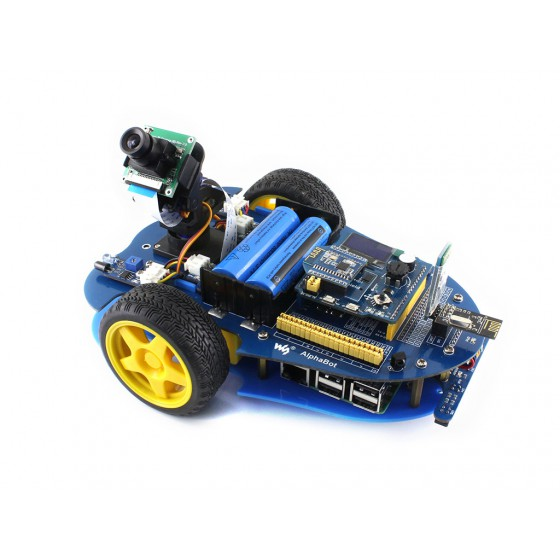 AlphaBot-Pi (for Europe), Raspberry Pi robot building kit