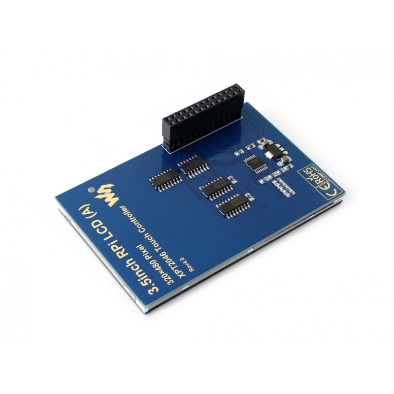 480x320, 3 5 inch Touch Screen TFT LCD Designed for Raspberry Pi