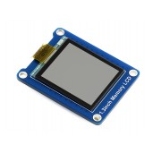 144x168, 1.3inch Bicolor LCD with Embedded Memory, Low Power