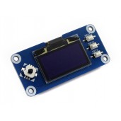 128x64, 1.3inch OLED display HAT for Raspberry Pi