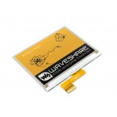 400x300, 4.2inch E-Ink raw display, yellow/black/white three-color
