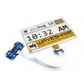 640x384, 7.5inch E-Ink display HAT for Raspberry Pi, yellow/black/white three-color