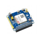 A7600C1 LTE Cat-1 HAT for Raspberry Pi, Low Speed 4G Module, 2G GSM / GPRS, for China