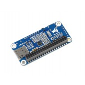 A7670E LTE Cat-1 HAT for Raspberry Pi, Multi Band, 2G GSM / GPRS, LBS, for Europe, Southeast Asia, West Asia, Africa, China, South Korea