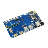 Raspberry Pi Compute Module 4 Dev Kit, with Waveshare PoE Board and Optional 7