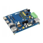 Raspberry Pi Compute Module 4 IO Board With PoE Feature (Type B), for all Variants of CM4