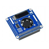 PWM Controlled Fan HAT for Raspberry Pi, I2C, Temperature Monitor