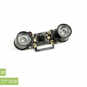 IMX219-77IR Camera, 77° FOV, Infrared, Applicable for Jetson Nano