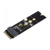 M.2 M KEY To A KEY Adapter, for PCIe Devices, Supports USB Conversion