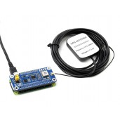 MAX-M8Q GNSS HAT for Raspberry Pi, Multi-constellation Receiver Support, GPS, Beidou, Galileo, GLONASS