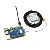 NEO-M8T GNSS TIMING HAT for Raspberry Pi, Single-Satellite Timing, Concurrent Reception of GPS, Beidou, Galileo, GLONASS