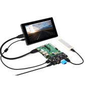 PCIe TO USB 3.2 Gen1 Adapter, for Raspberry Pi Compute Module 4 IO Board, 4x HS USB
