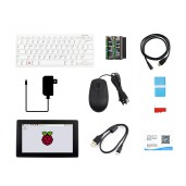 Raspberry Pi 400 with Third-Party Accessories, and 7inch HDMI Touch Display