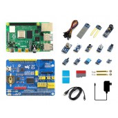 Raspberry Pi 4 Model B Sensor Kit, with 13x Popular Sensors