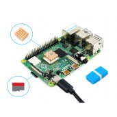 Raspberry Pi 4 Model B Starter Kit, Essential Parts