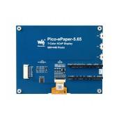 5.65inch Colorful e-Paper E-Ink Display Module for Raspberry Pi Pico, 600×448 Pixels, ACeP 7-Color
