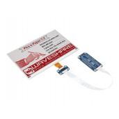 7.5inch E-Paper E-Ink Display Module (B) for Raspberry Pi Pico, 800×480, Red / Black / White, SPI