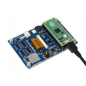 Overall Evaluation Board Designed for Raspberry Pi Pico, Misc Onboard Components