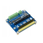 DC Motor Driver Module for Raspberry Pi Pico, Driving up to 4x DC Motors