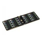 Quad GPIO Expander for Raspberry Pi Pico, Four Sets of Male Headers, USB Power Connector