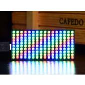 RGB Full-color LED Matrix Panel for Raspberry Pi Pico, 16×10 Grid