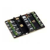 GPIO Expander For Raspberry Pi Pico, 1x Raspberry Pi Standard 40PIN, 1x Pico 2×20PIN