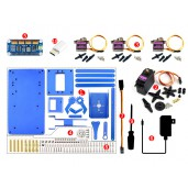 4-DOF Metal Robot Arm Kit for Raspberry Pi, Bluetooth / WiFi