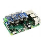Servo Driver HAT (B) for Raspberry Pi, 16-Channel, 12-bit, I2C