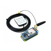 SIM7000G NB-IoT / Cat-M / EDGE / GPRS HAT for Raspberry Pi, GNSS, Global Band Support
