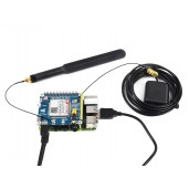 SIM7600A-H 4G HAT for Raspberry Pi, LTE Cat-4 4G / 3G, GNSS, for North America