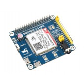 SIM7600CE 4G HAT for Raspberry Pi, LTE Cat-4 4G / 3G / 2G Support, GNSS Positioning, for China