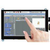 5inch Capacitive Touch Screen LCD (H), 800×480, HDMI, Various Systems Support