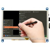 5inch Resistive Touch Screen LCD (G), 800×480, HDMI, Various Systems Support