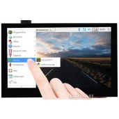 4.3inch Capacitive Touch Screen LCD (B), 800×480, HDMI, IPS, Various Devices & Systems Support