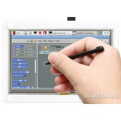 5inch Resistive Touch Screen LCD with Bicolor Case, 800×480, HDMI, Low Power